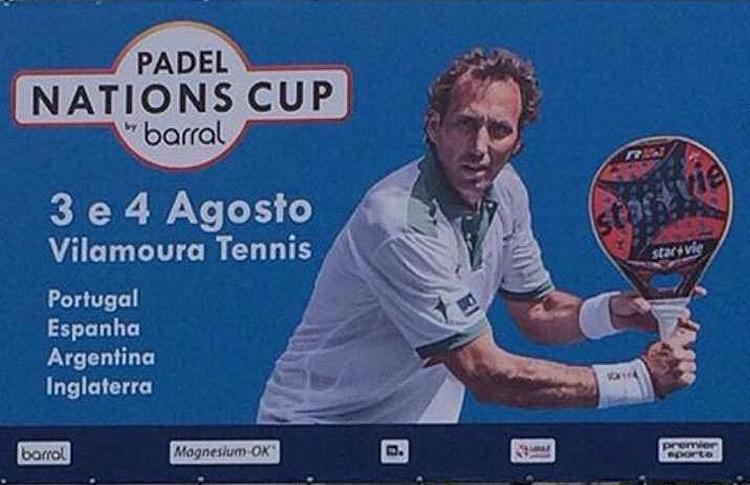 Affiche des Nations Padel Cup par Barral