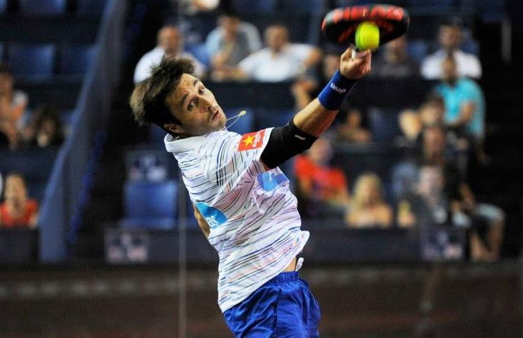 Fernando Belasteguín, all'Estrella Damm Palma de Mallorca Open