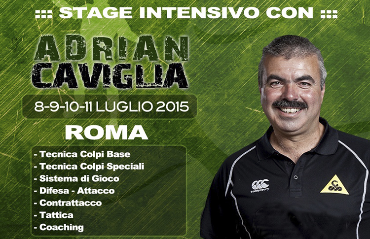 Curso Intensivo que organizará Adrián Caviglia en Roma