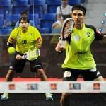 Cristian Gutiérrez-Agustín Gómez Silingo, en acción en el Estrella Damm Palma de Mallorca Open