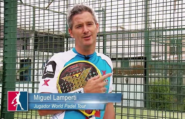 Miguel Lamperti explica en World Pádel Tour los secretos de su espectacular remate x3
