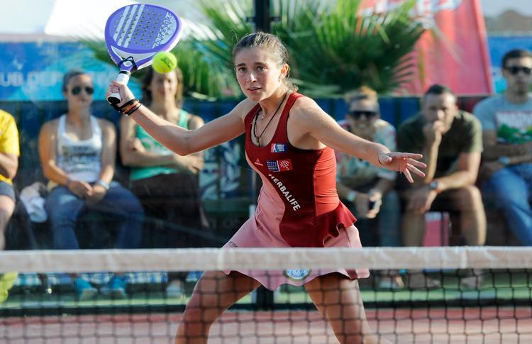 Marta Ortega, en el Estrella Damm Valladolid Open