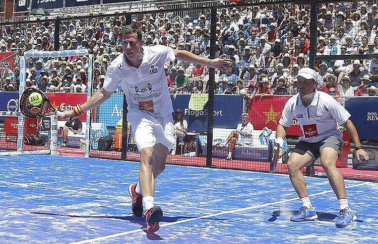 Paquito Navarro y Matías Díaz, en el Estrella Damm Valladolid Open