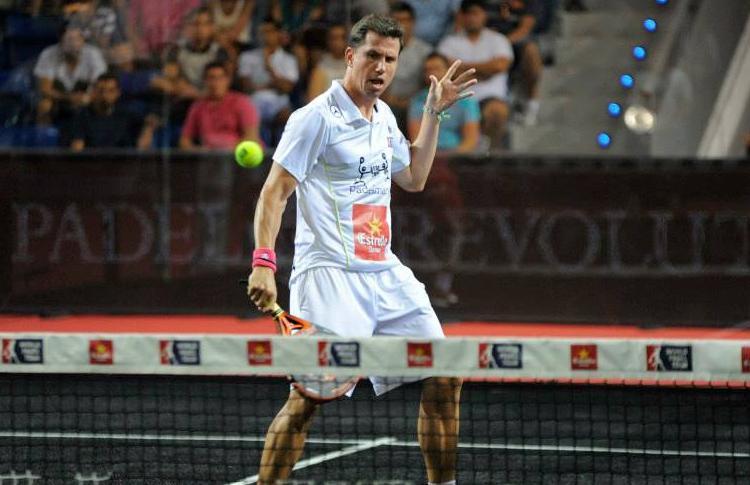 Paquito Navarro, en el Estrella Damm Palma de Mallorca Open
