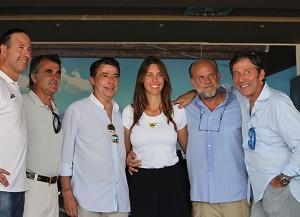 Rostros conocidos en la primera prueba del Circuito de Pádel Fundación Real Madrid