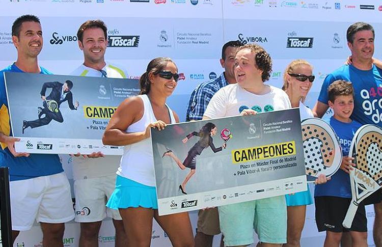 Entrega de Premios de la primera prueba del Circuito de Pádel Fundación Real Madrid