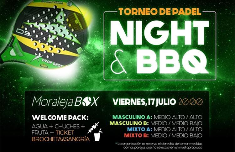 Torneo notturno di Time2Pádel in Moraleja Box