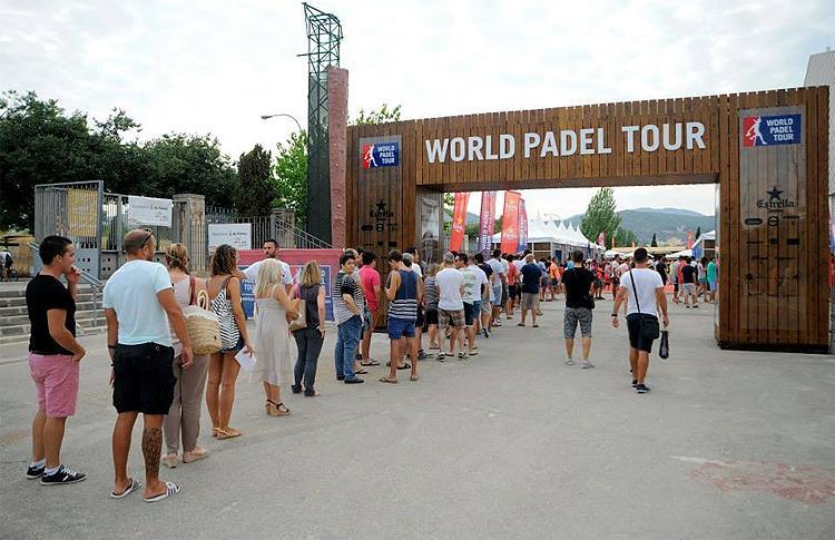 Gran ambiente en el Estrella Damm Palma de Mallorca Open