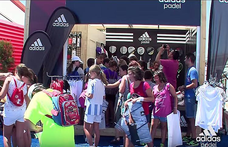 El equipo de Adidas demostró en Málaga que son 'Padel Afición'