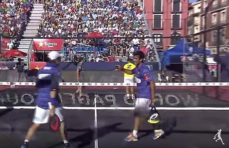 Fernando Belasteguín y Pablo Lima, en el Estrella Damm Valladolid Open