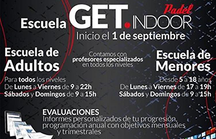 GET Indoor presenta sus Escuelas de Menores y Adultos