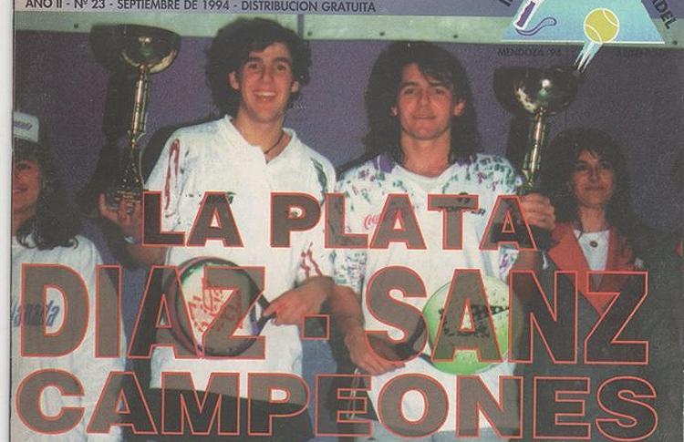 Hace ya 21 años del primer triunfo de Juan Martín Díaz en el Circuito Profesional. Su compañero, el 'Mago' Sanz