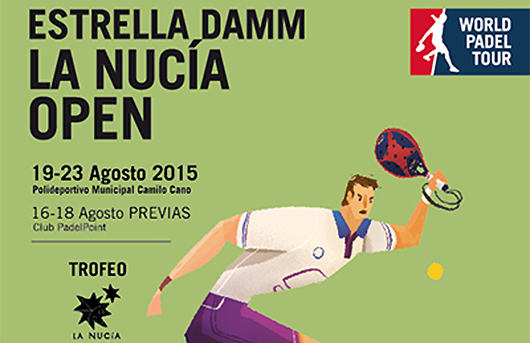 Cartel del Estrella Damm La Nucía Open