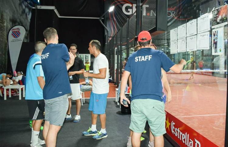 Torneo Benéfico organizado por A Tope de Pádel en las pistas de GET Indoor