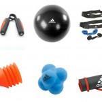 Material de Fitness de Adidas aplicado al pádel