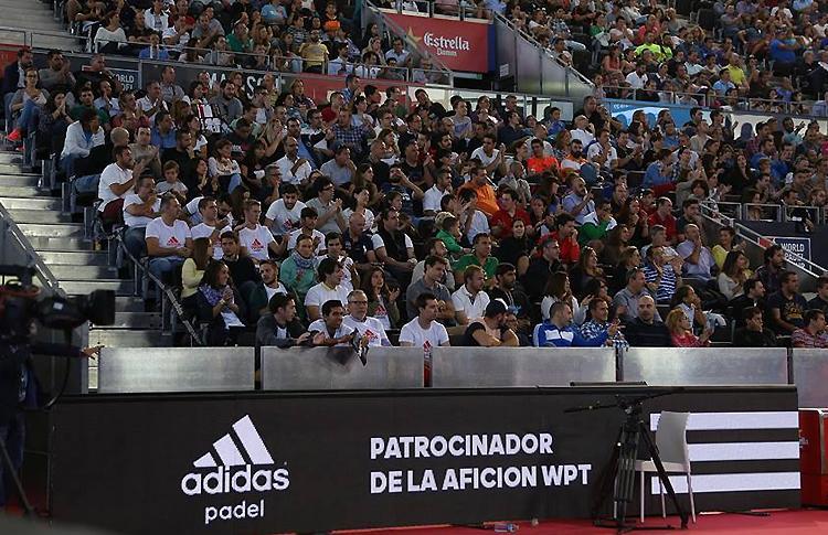 Adidas brilla como 'Patrocinador de la Afición' en el Estrella Damm Madrid Open