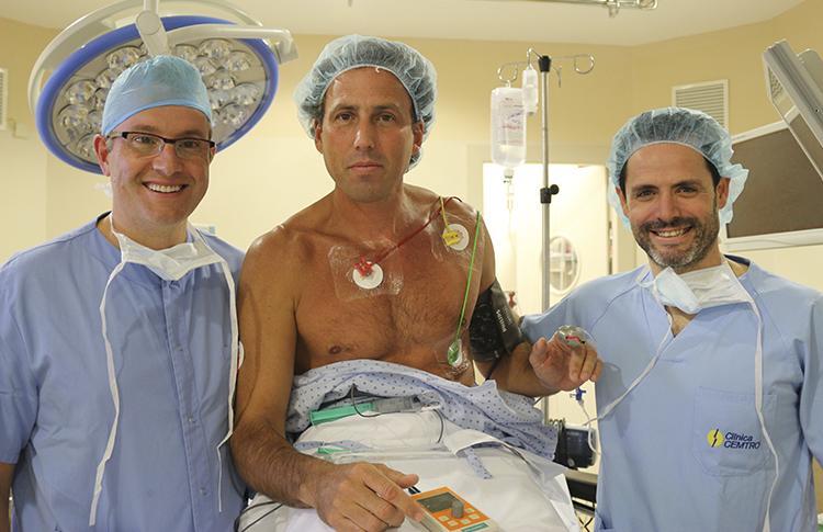 Hernán Auguste, operado con éxito de su lesión en el hombro derecho