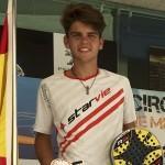 Javier Garrido, joven promesa del pádel español
