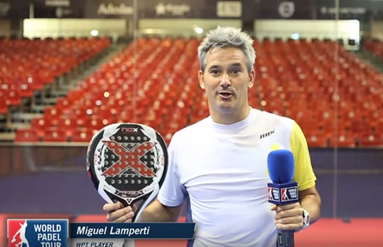 Miguel Lamperti Dares Everything Even With English Padel