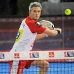 Miguel Lamperti, en el Estrella Damm Madrid Open