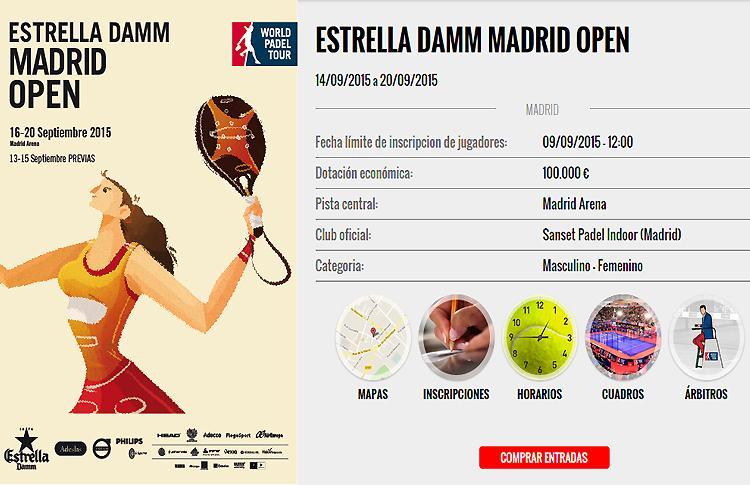 Repasa los cruces y horarios del Estrella Damm Madrid Open