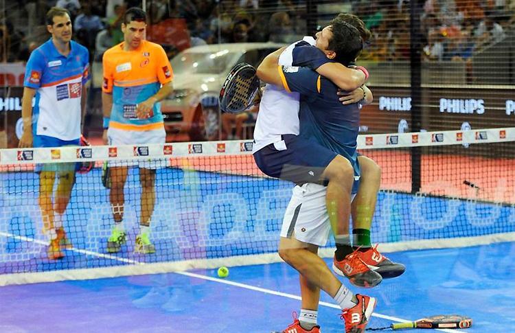 Matías Díaz y Paquito Navarro, finalistas en el Estrella Damm Madrid Open