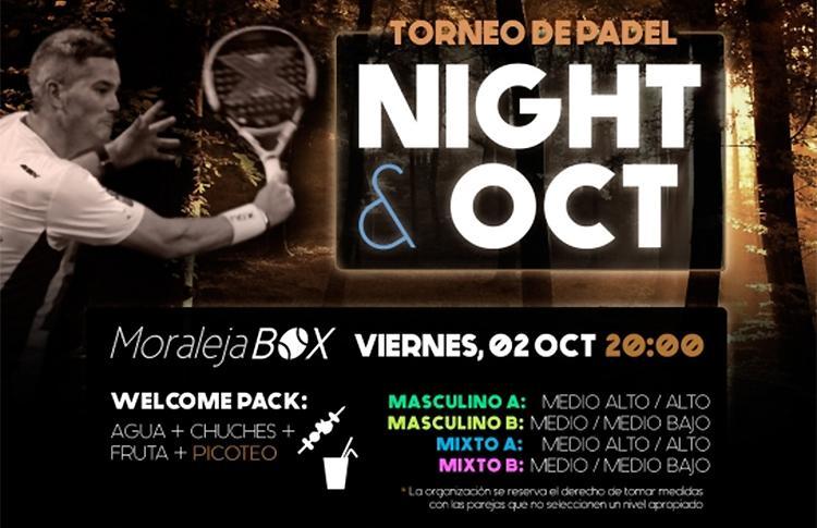 Affiche du prochain tournoi Time2Pádel à Moraleja Box