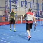 Aday Santana y Willy Lahoz, en el Dubai Padel Master