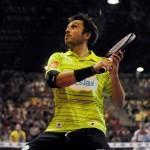 Fernando Belasteguin, en acción en el Galicia Open