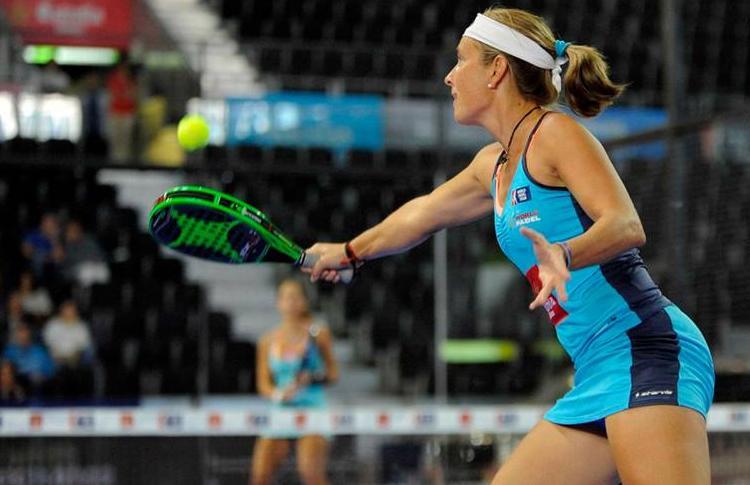 Carolina Navarro, all'Estrella Damm Madrid Open