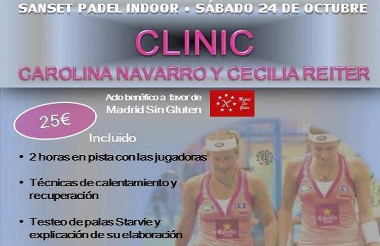 Cartel del Clinic organizado por Fisioterapias J. Cuenca