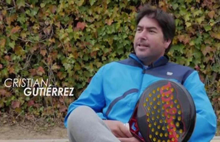 Cristian Gutiérrez y una de las anécdotas vividas gracias al pádel