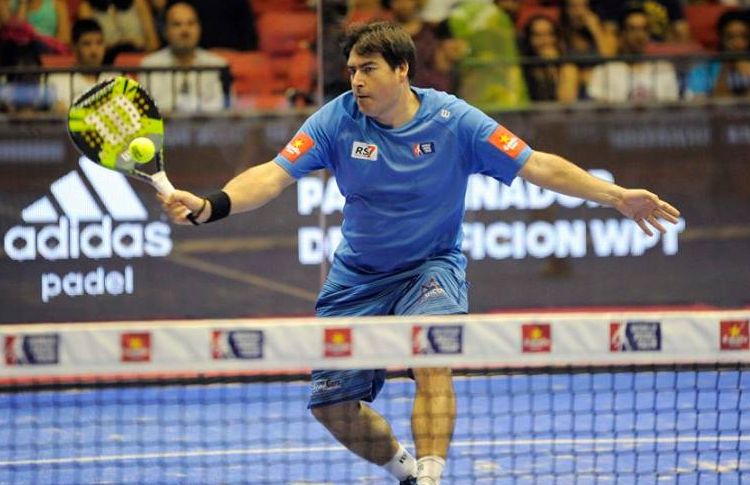 Cristian Gutiérrez, en el Estrella Damm Sevilla Open