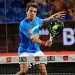 Fede Quiles, en acción en el Estrella Damm Madrid Open