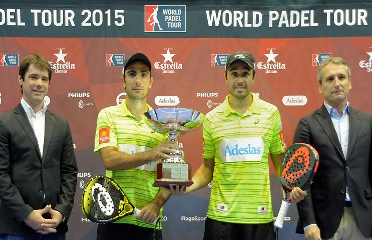 Fernando Belasteguín-Pablo Lima, ganadores del Estrella Damm Sevilla Open