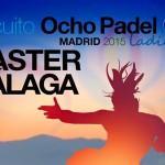 Cartel del Másters Finals del Circuito OchoPádel Ladies Tour - Time2Pádel