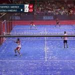 Gran punto de García Diestro-Martín Sánchez en el Estrella Damm Sevilla Open