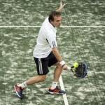 Roby Gattiker, en el Galicia Open