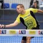 Aday Santana, en acción en el Keler Euskadi Open