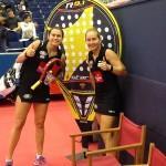 Carolina Navarro e Cecilia Reiter, in azione al Maestro Estrella Damm Valencia
