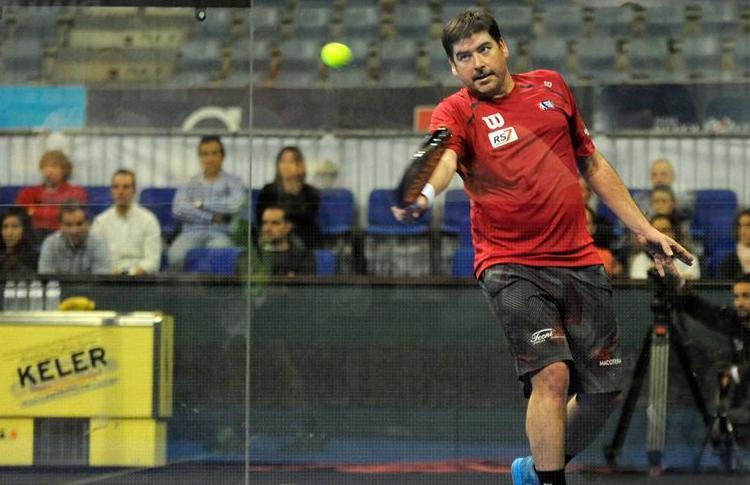 Cristian Gutiérrez, en acción en el Keler Euskadi Open