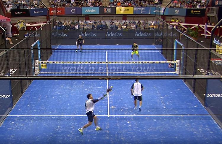 Gran partido en los cuartos de final del Keler Euskadi Open