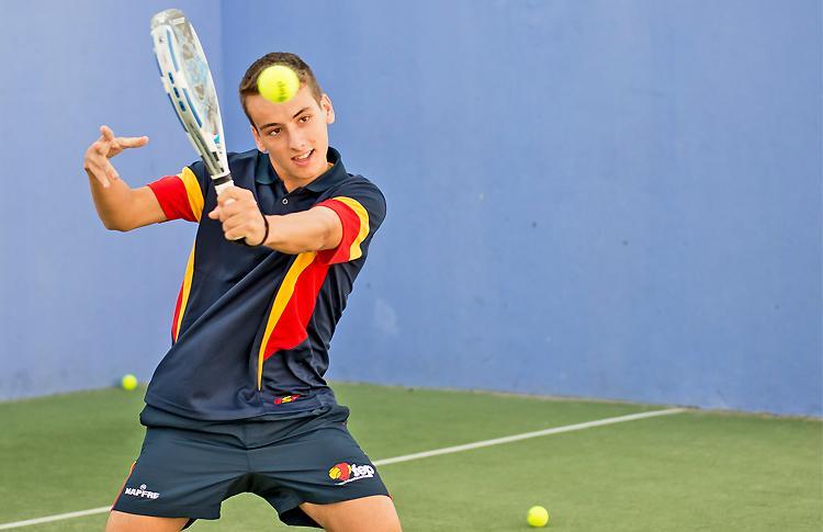 Javier Rico, una de las grandes promesas de la Selección Española que jugarán el Mundial de Menores
