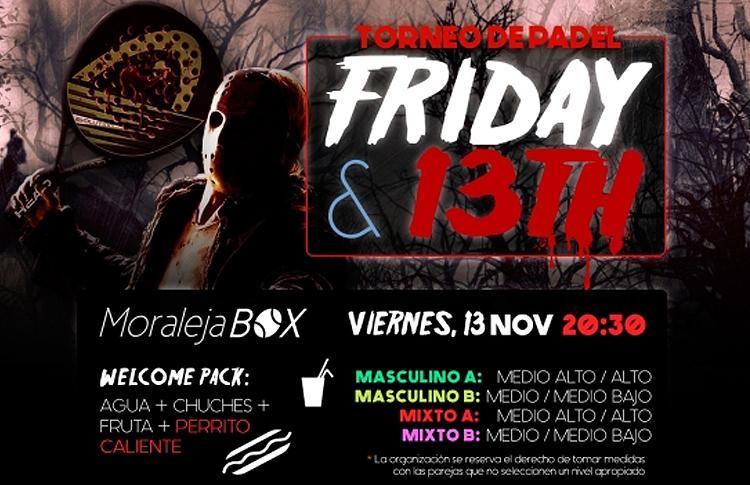 Affiche du tournoi Time2Pádel dans la boîte de Moraleja