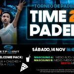 Cartel del Torneo de Time2Pádel en Set Point