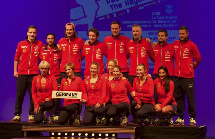 El pádel alemán en el Europeo