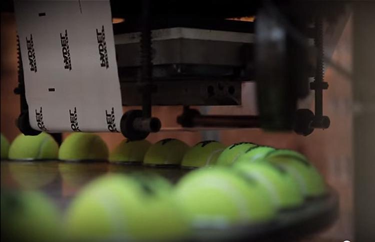 Dunlop nos enseña cómo se fabrican sus pelotas de pádel