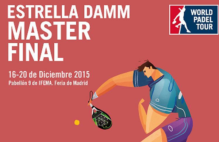 Poster delle finali di Estrella Damm Masters