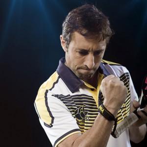 Maxi Grabiel, uno de los protagonistas del Estrella Damm Másters Finals