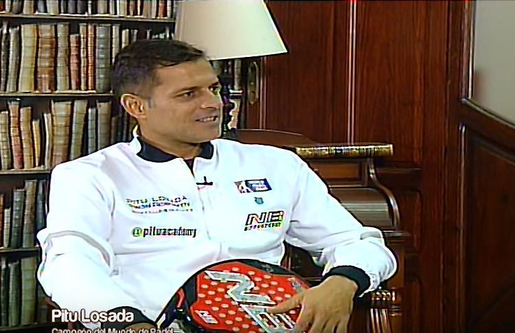 Un café con Pitu Losada... Entrevista en 12 TV